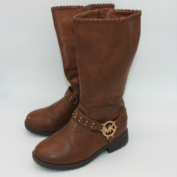 girls brown boots size 1